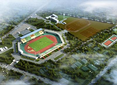 援毛里塔尼亚奥林匹亚运动场维修项目施工近况