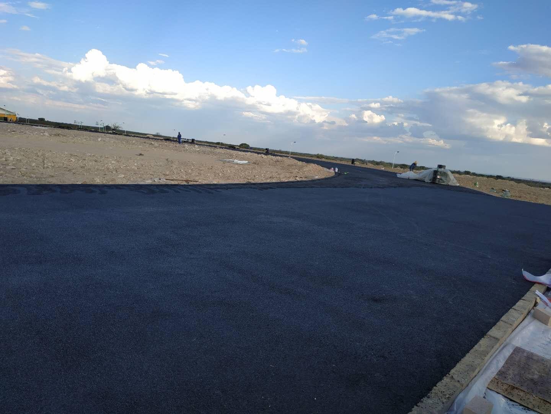 援纳米比亚青年培训中心二期运动场项目近期建设情况