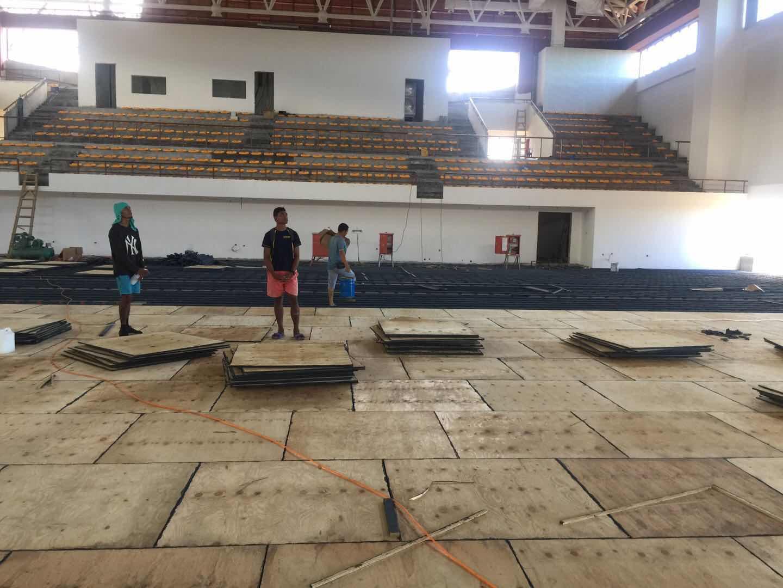援萨摩亚南太运动会优德88手机app下载修缮项目近期建设情况