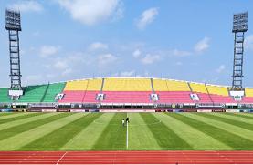 非洲冠军联赛决赛在援贝宁友谊w88优德网站场成功举行